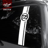 T25 Transporter Rear Window Decal