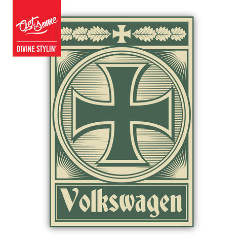 Volkswagen Iron Cross Sticker