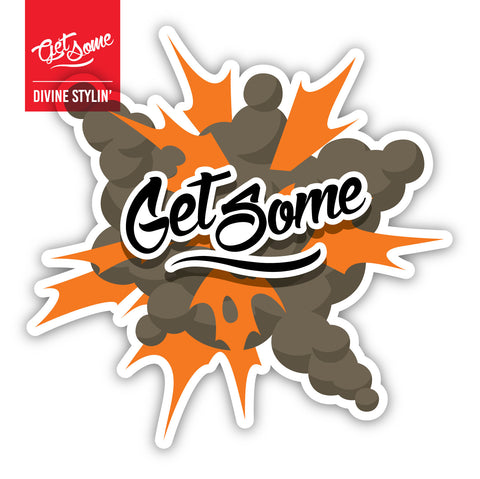 Get Some Boom Sticker