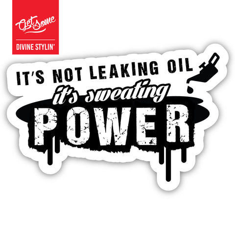 Sweating Power Sticker