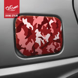 A5 Sticker Sheet - Red Camo