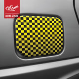 A5 Sticker Sheet - Yellow & Black Chequer
