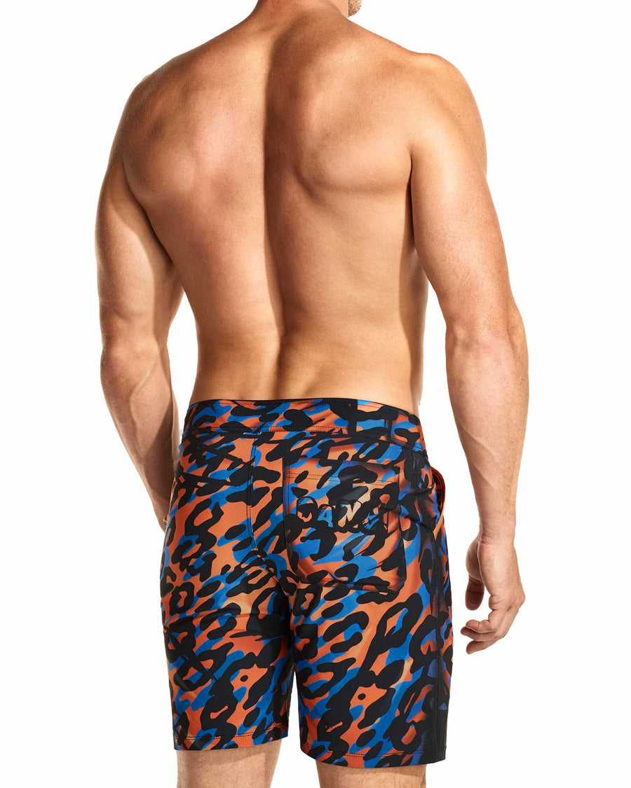 Safari 3-D Flexi Boardshorts Front