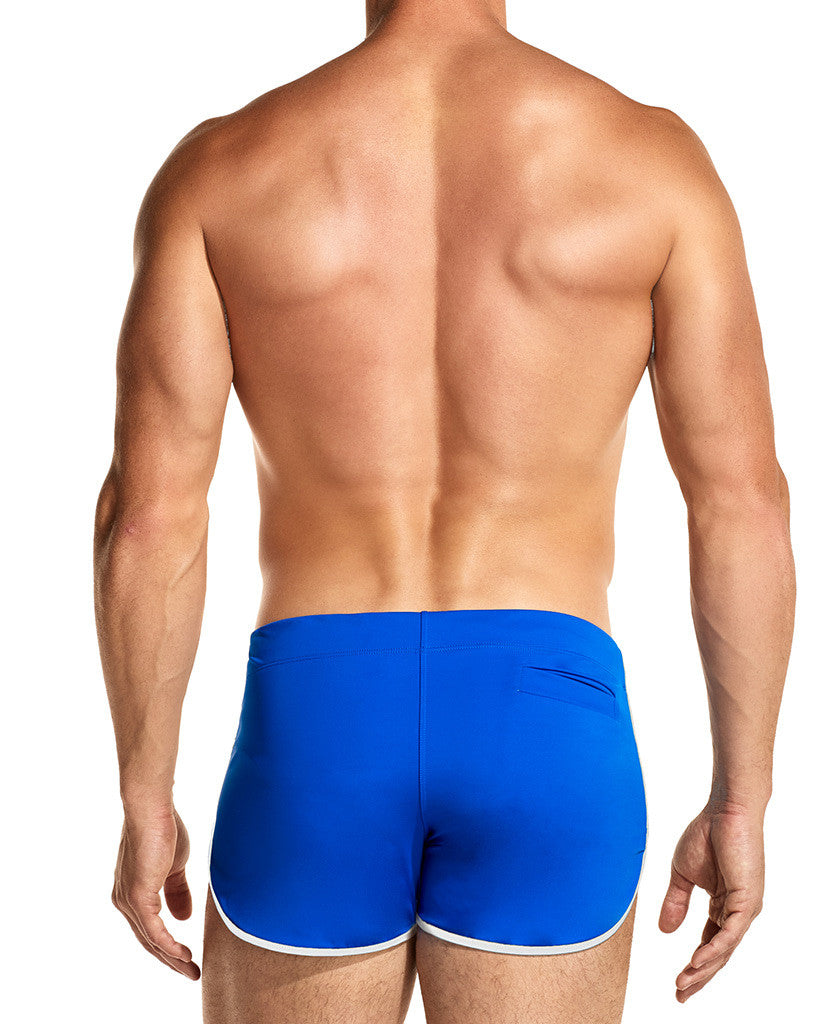 True Blue Swim Shorts Front