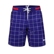 Frontal view of a sexy men's flex boardshort by the Bang! Clothes brand of men's beachwear from Miami.