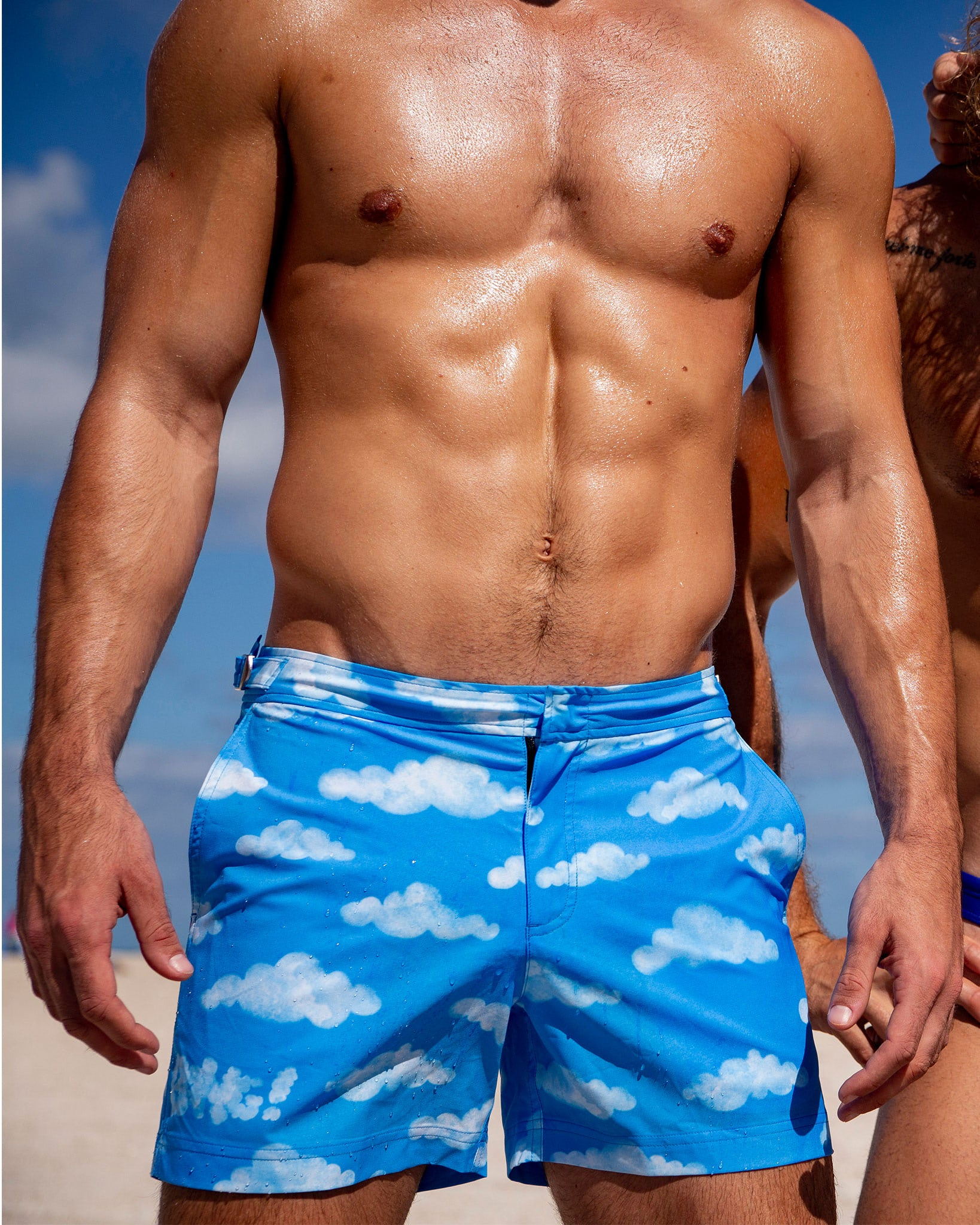 ABOVE THE CLOUDS Tailored Shorts Bang Clothes Men Swimwear Swimsuits editorial