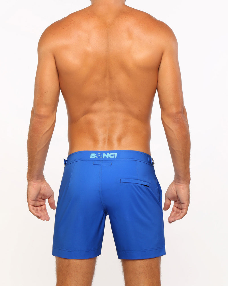 ATOMIK BLUE Tailored Shorts Bang Clothes Men Swimwear Swimsuits