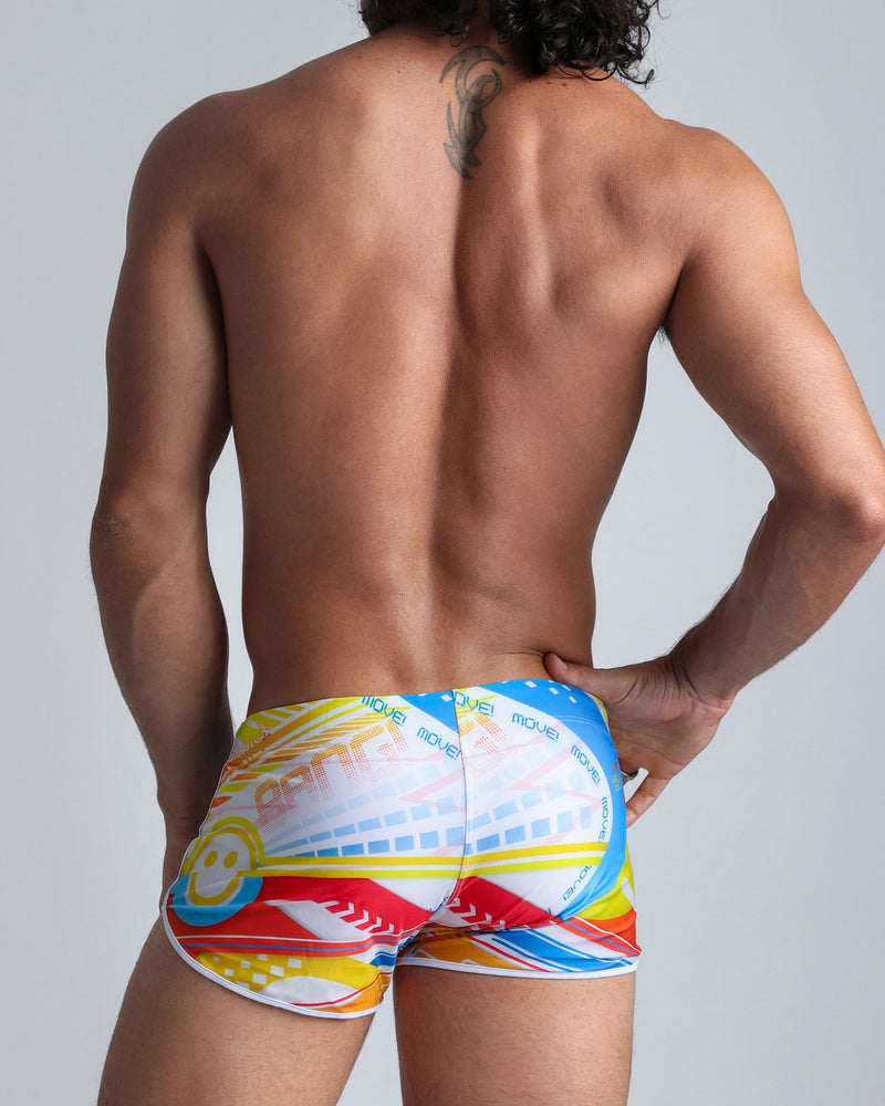 Arcade Swim Shorts Bang Clothes Men Swimwear Swimsuits front
