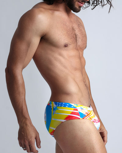 Arcade SwimBrief Bang Clothes Men Swimwear Swimsuits right side view