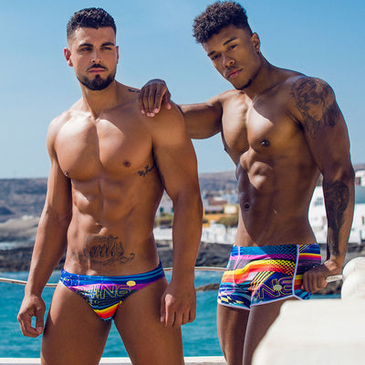 Bang Clothes JOE LE POOL POSITION Swim Short Brief Swimsuit Men Swimwwear Beachwear 190508