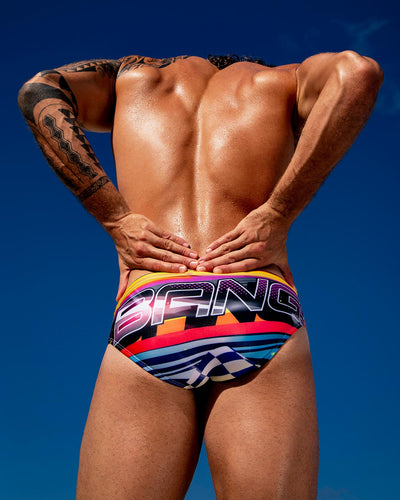 Pool Position SwimBrief Bang Clothes Men Swimwear Swimsuits