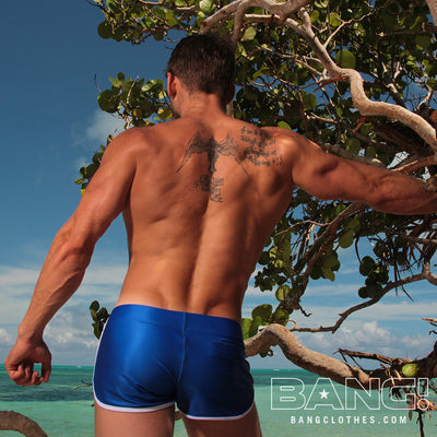 Bang Clothes Men Swimwear Blue Savannah Swim Shorts
