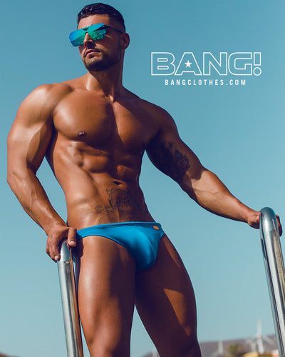 Bang Clothes Men Swimwear Celestial Blue Swim Mini Brief Swimsuit