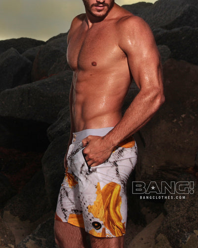 Bang Clothes Men Swimwear Marbleous Flex Boardshorts Swimsuits