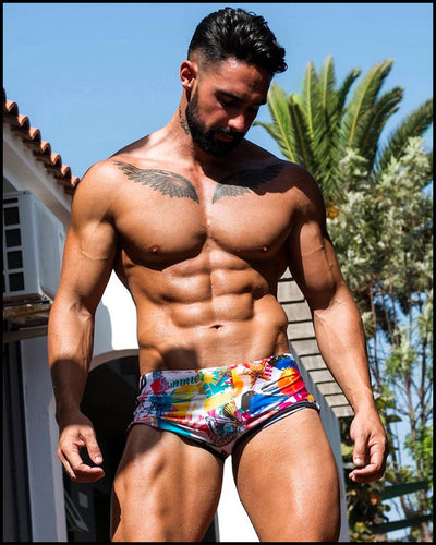 Bang Clothes Men Swimwear People From Ibizsa Swim Shorts Swimsuit Beachwear