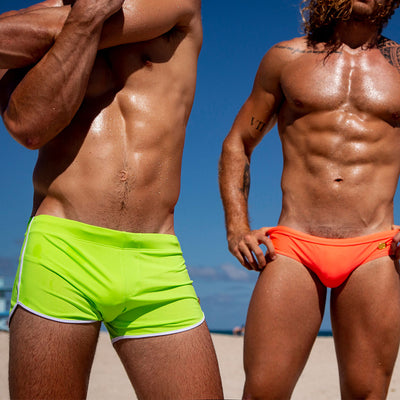 Bang Clothes Men Swimwear Swimsuit Beachwear Ginger neon Greeny