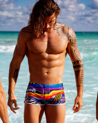 Bang Clothes POOL POSITION Swim Shorts Swimsuit-Men Swimwear Beachwear 190501