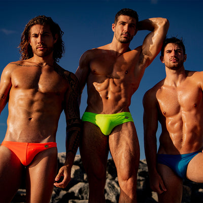 Bang Clothes Spice Up Your Life Swim Brief Swimsuit Men Swimwwear Beachwear 190511