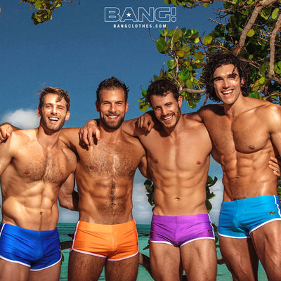 Bang Men Swimwear Swimsuits Beach Bangclothes