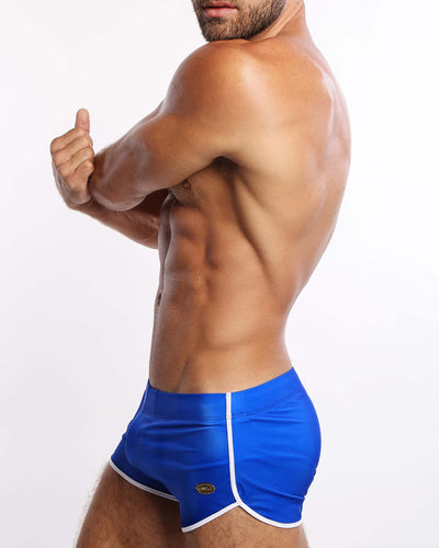 Blue Savannah Swim Shorts Bang Clothes Men Swimwear Swimsuits