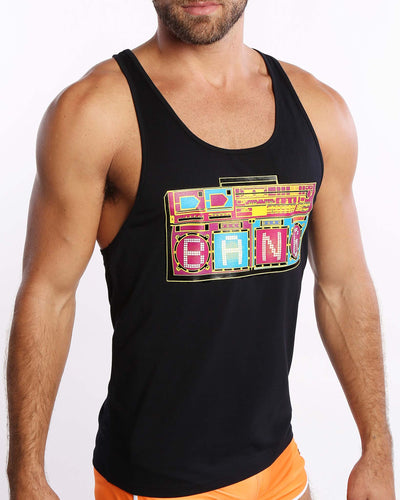 Boombox Premium Tank Bang Clothes Men Tank Tops Beach Gear