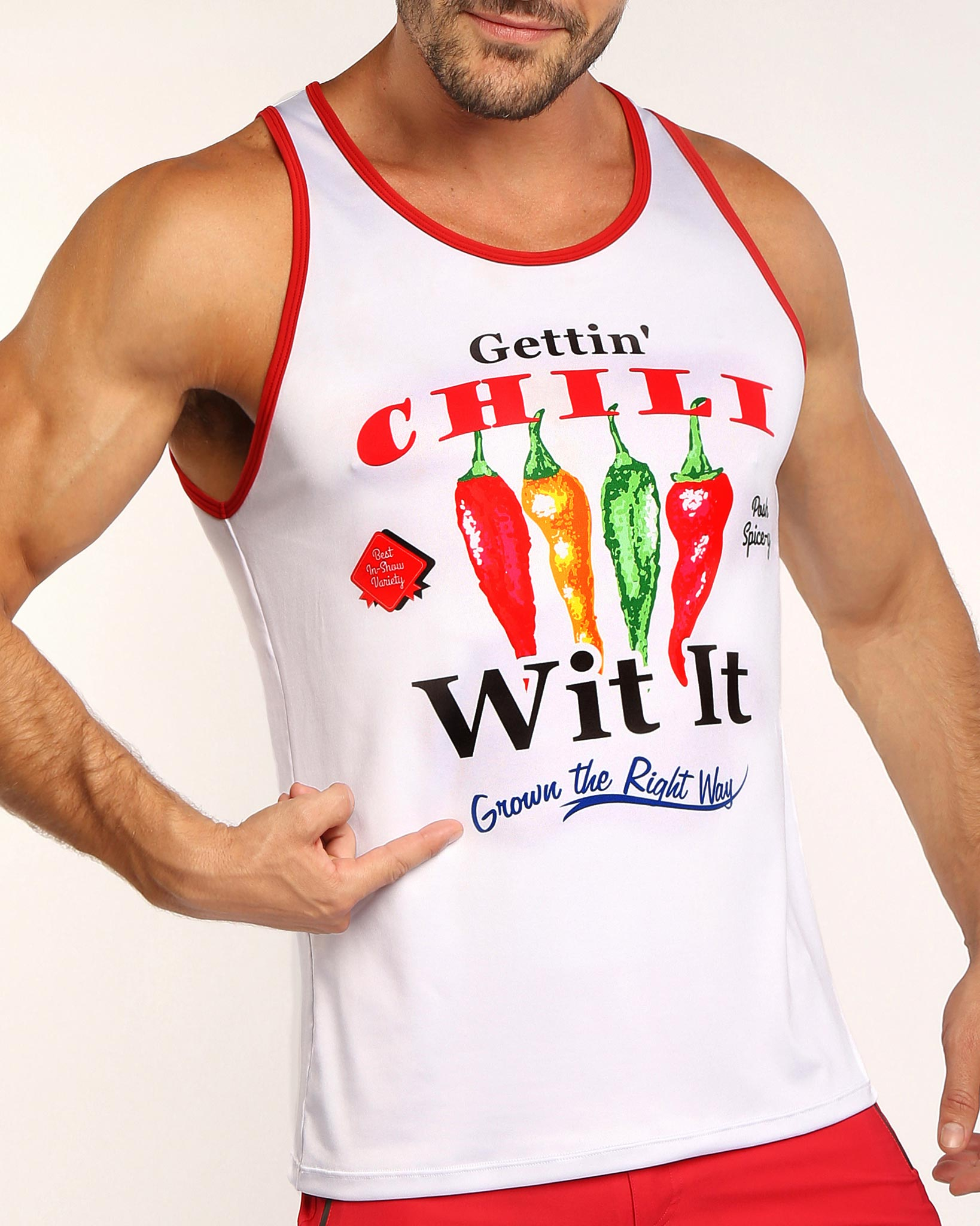 CHILI Tank Top Bang Clothes Men Tank Tops Beach Gear