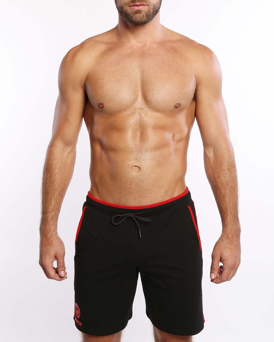 Calisthenical Shorts Black Bang Clothes Beach Nightlife Gym Gear For Men Accessories