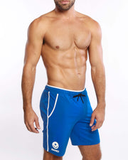 Calisthenical Shorts Blue Bang Clothes Beach Nightlife Gym Gear For Men Accessories