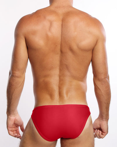 Cherry Swim Mini Brief Bang Clothes Men Swimwear Swimsuits Back side
