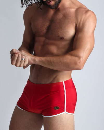 Cherry Swim Shorts Bang Clothes Men Swimwear Swimsuits left side