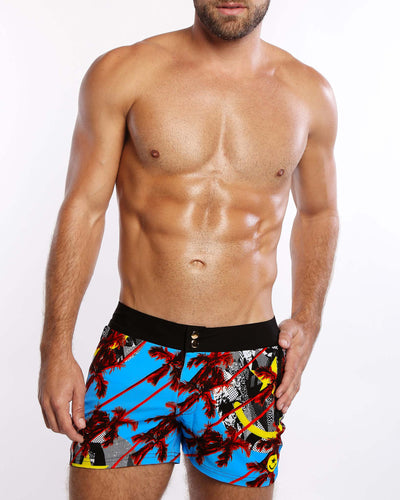 Cool Breeze Beach Shorts Bang Clothes Men Swimwear Swimsuits