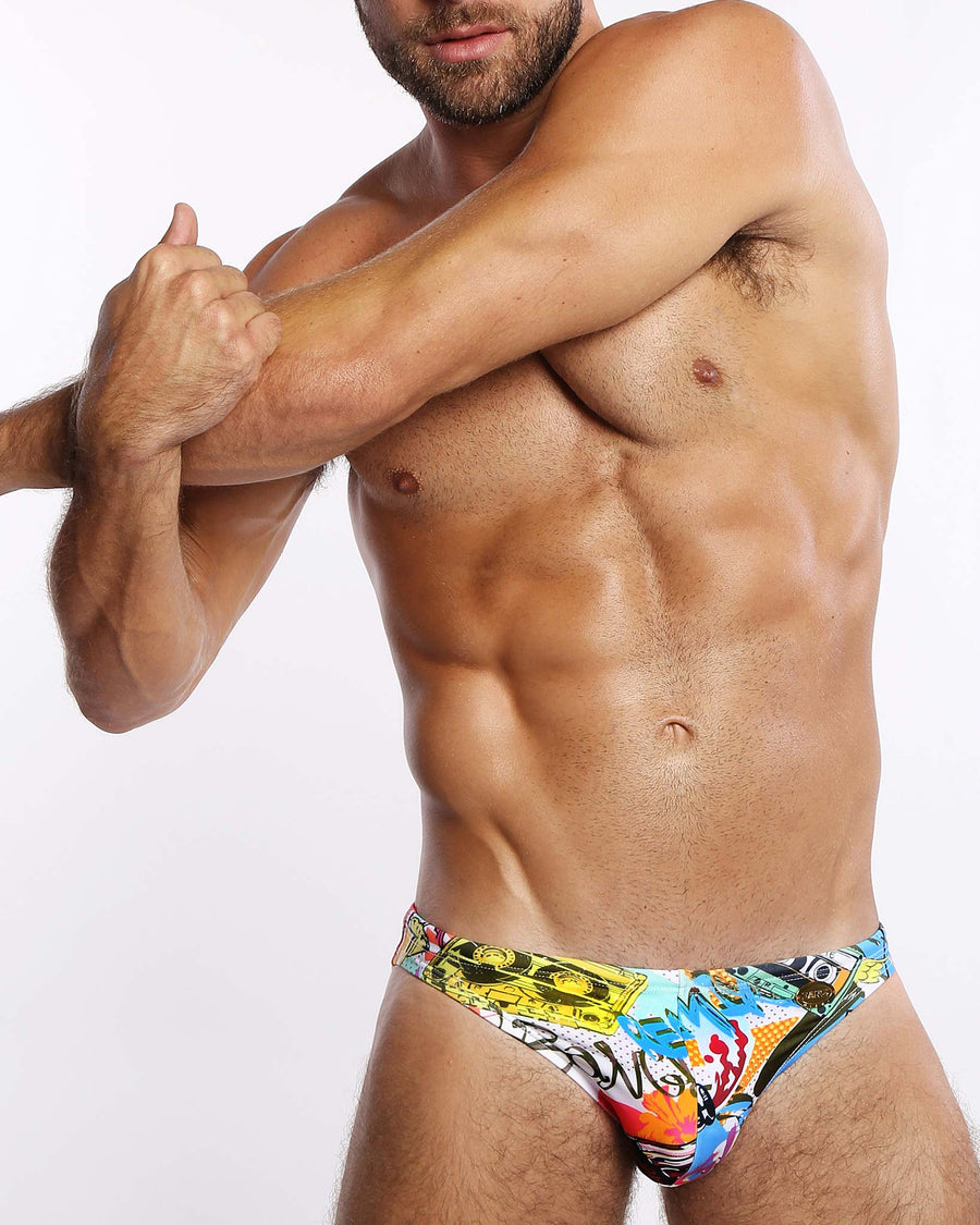 Discolite Swim Mini Brief Bang Clothes Men Swimwear Swimsuits