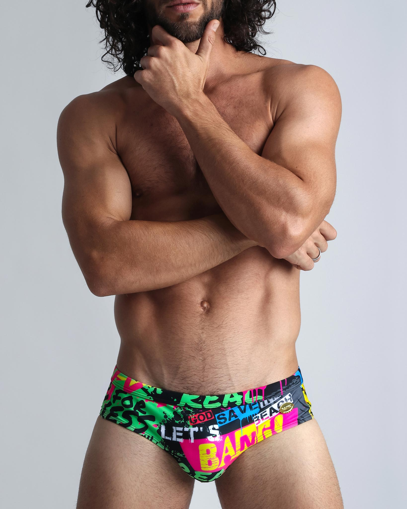 GOD SAVE THE BEACH - Swim Brief