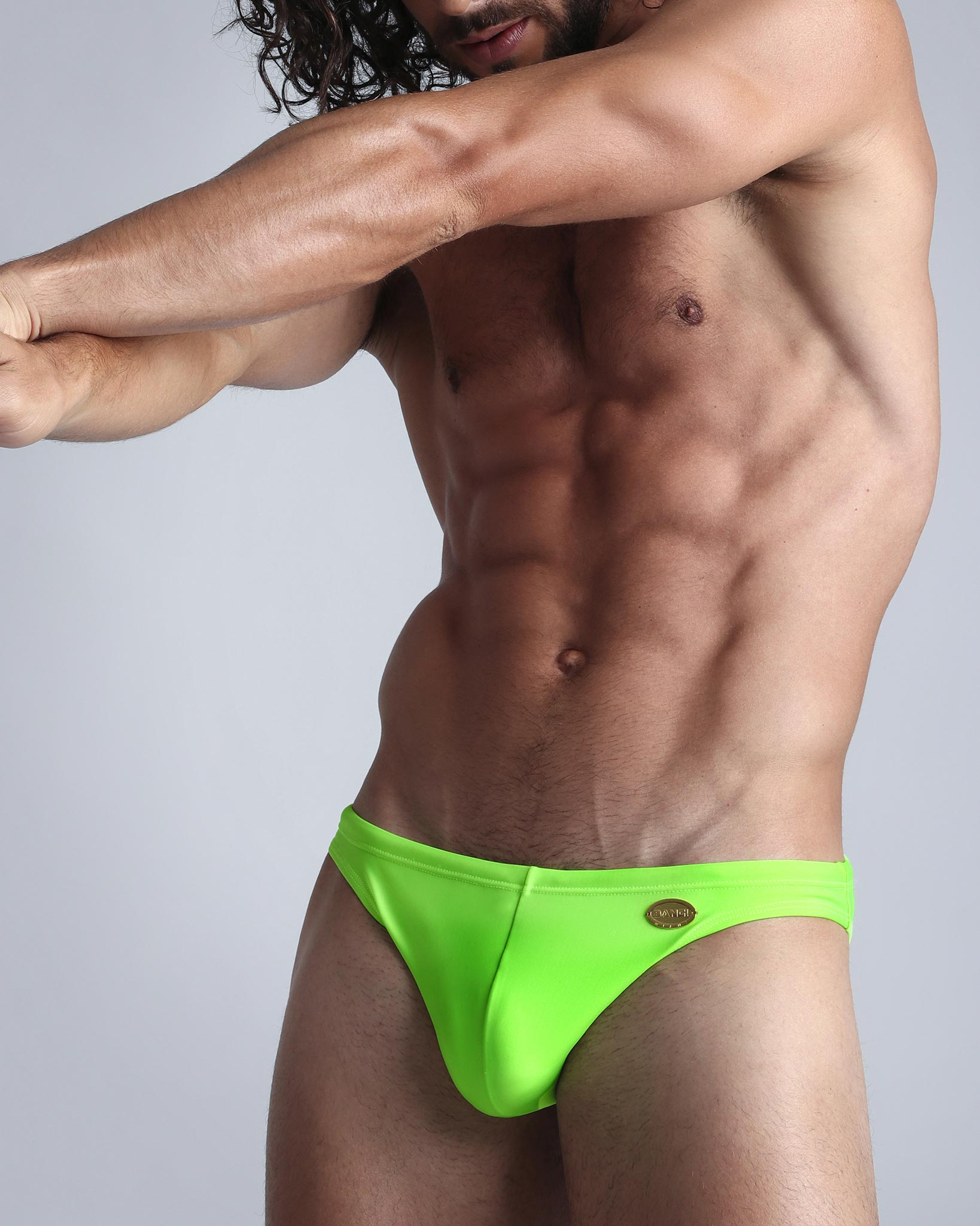 Greeny Swim Mini Brief Bang Clothes Men Swimwear Swimsuits