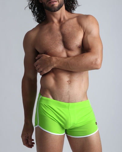 Greeny Swim Shorts Bang Clothes Men Swimwear Swimsuits