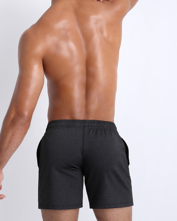 Backside view of men&