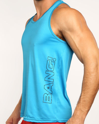 MACH SKY Tank Top Bang Clothes Men Tank Tops Beach Gear lateral front side