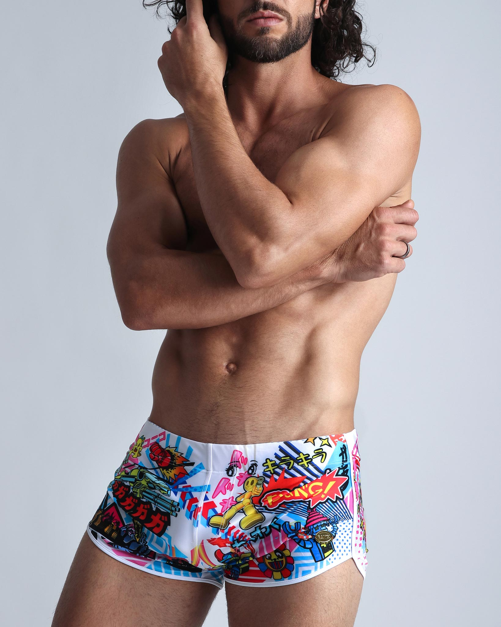 Manga Bang'A Swim Shorts Bang Clothes Men Swimwear Swimsuits