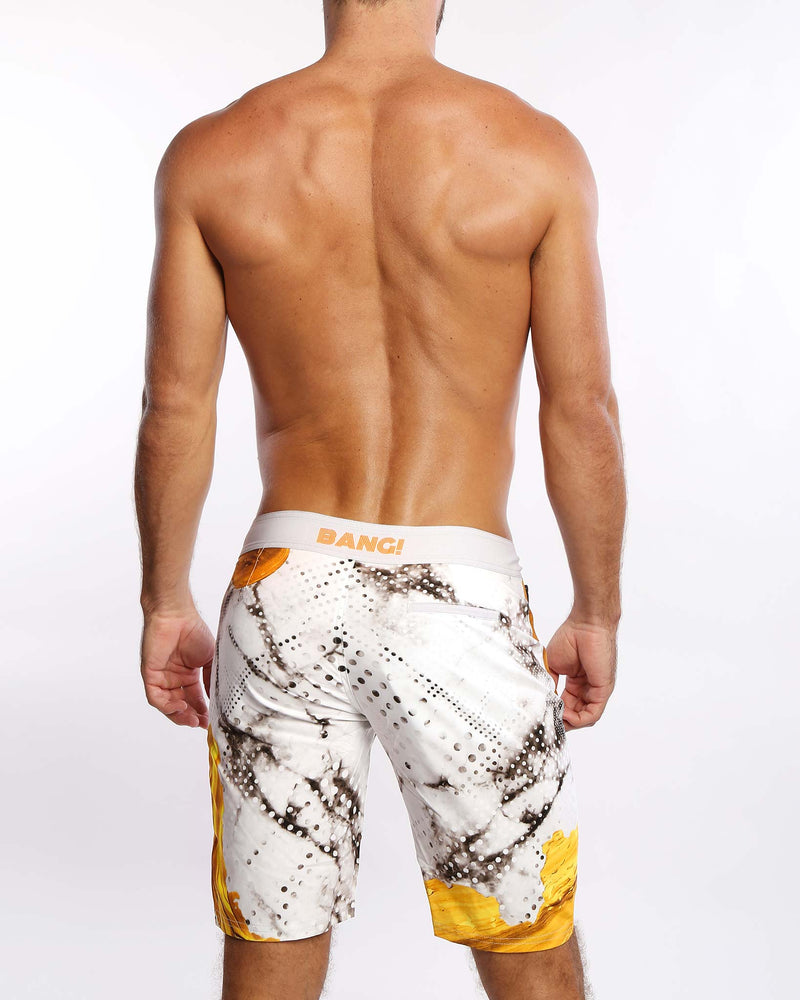 Marbleous Flex Boardshorts Bang Clothes Men Swimwear Swimsuits