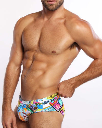 Mixtape Swim Brief Bang Clothes Men Swimwear Swimsuits