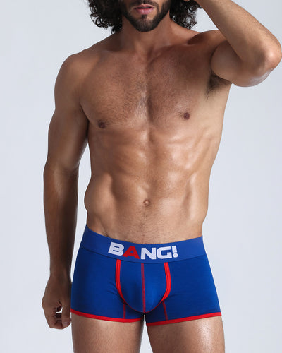This men's premium cotton boxer brief is equipped with a low rise fit that provides style and performance.This men's premium cotton boxer brief is equipped with a low rise fit that provides style and performance.