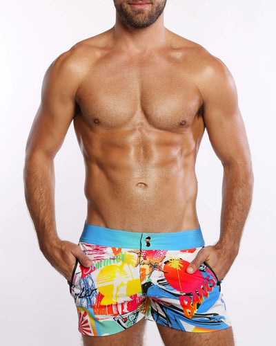 People From Ibiza <br>Beach Shorts