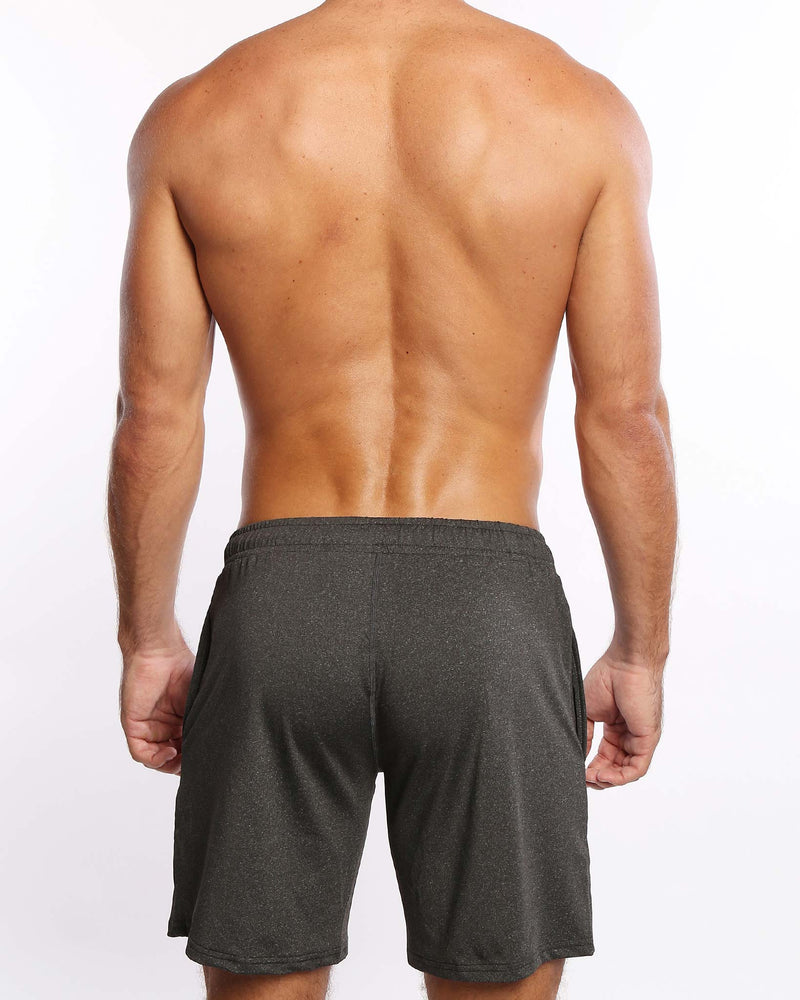 Power Shorts Iron Grey Bang Clothes Beach Nightlife Gym Gear For Men Accessories