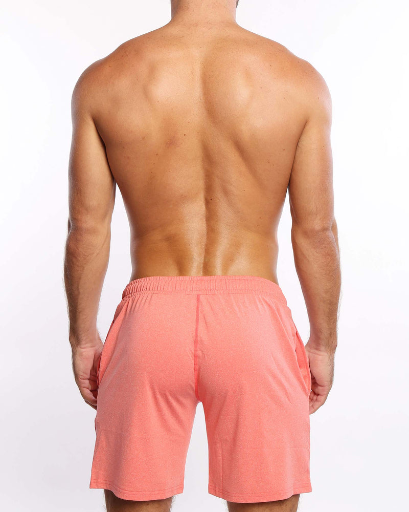 Power Shorts Miami Coral Bang Clothes Beach Nightlife Gym Gear For Men Accessories