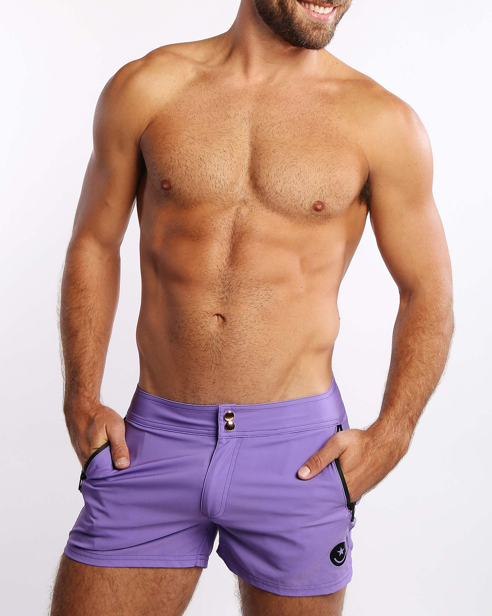 Purple Reign Beach Shorts Bang Clothes Men Swimwear Swimsuits