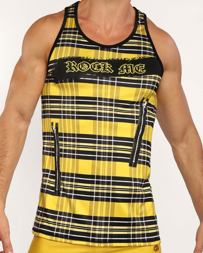 ROCK ME Tank Top Bang Clothes Men Tank Tops Beach Gear