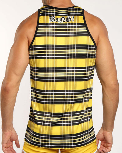ROCK ME Tank Top Bang Clothes Men Tank Tops Beach Gear back view