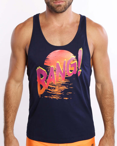 Rise N Set Premium Tank Bang Clothes Men Tank Tops Beach Gear