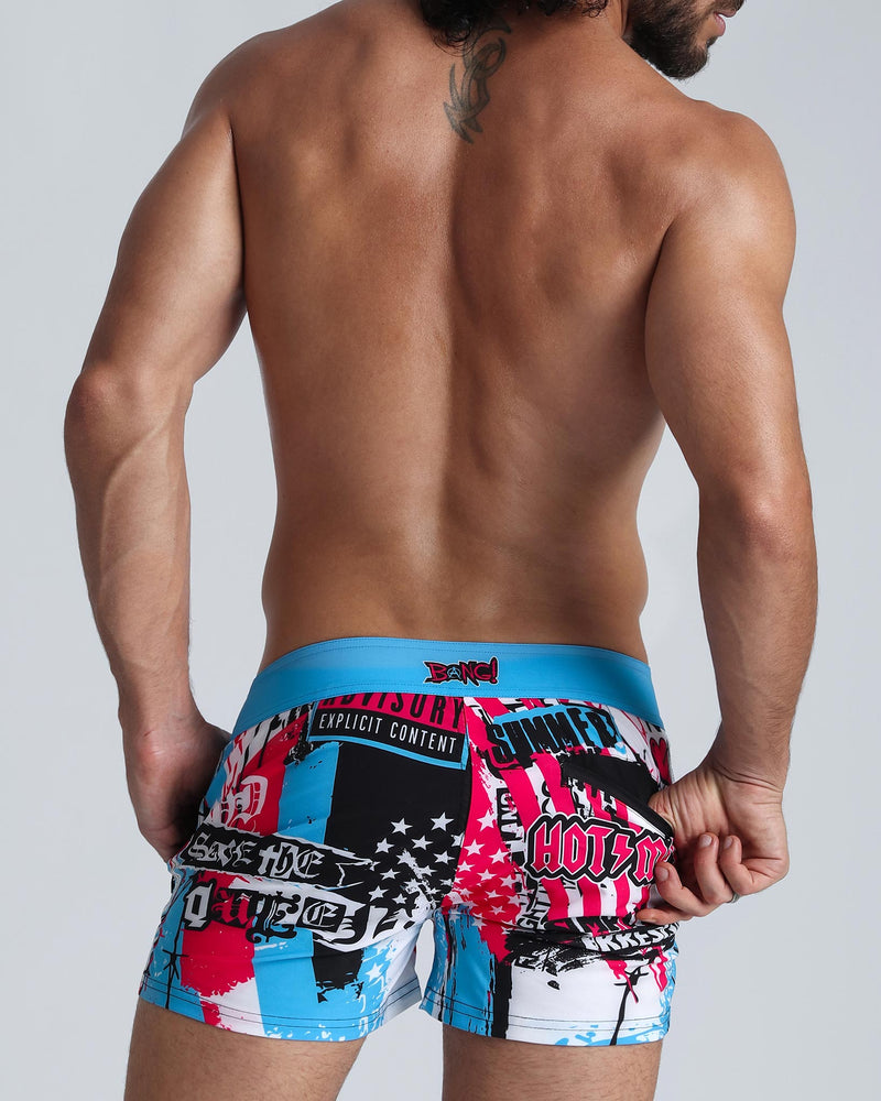 SIMPLY IRRESISTIBLE Beach Shorts Bang Clothes Men Swimwear Swimsuits