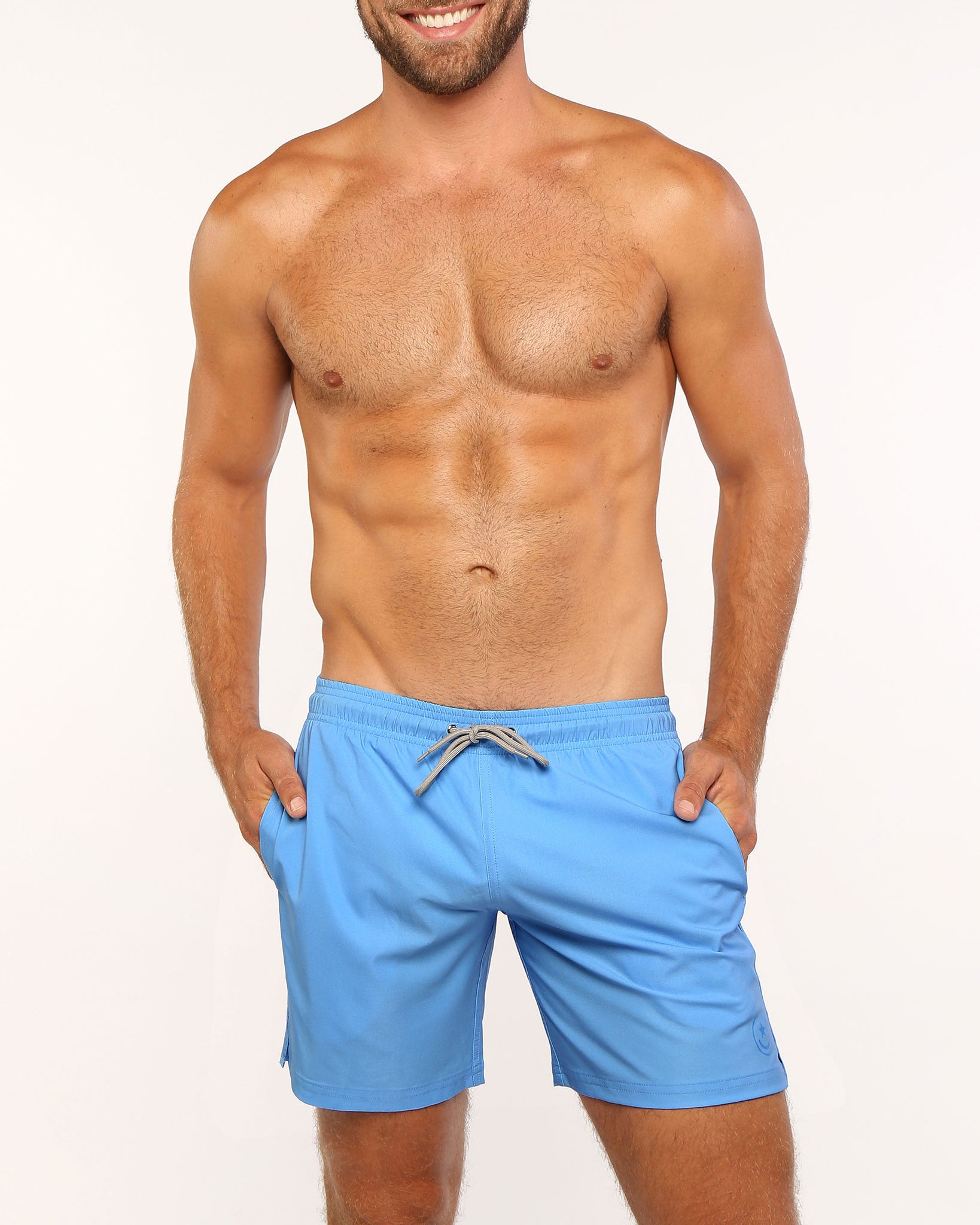 SPLASH BLUE Resort Shorts Bang Clothes Men Swimwear Swimsuits